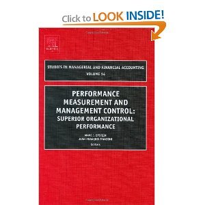 Performance Measurement and Management Control, Volume 14 free download