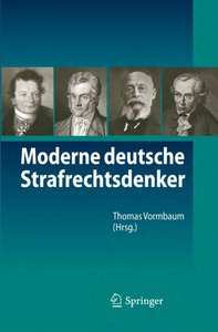 Moderne deutsche Strafrechtsdenker free download