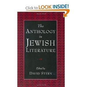 The Anthology in Jewish Literature free download