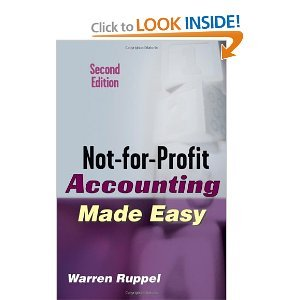 Not-for-Profit Accounting Made Easy free download