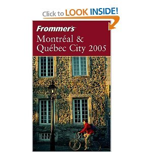Frommer's Montrealamp; Quebec City 2005 free download