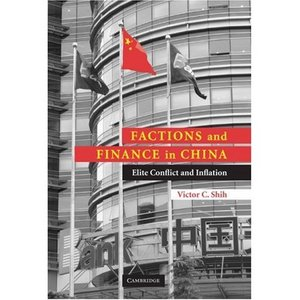 Factions and Finance in China: Elite Conflict and Inflation free download