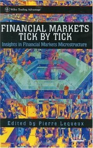 Financial Markets Tick By Tick free download