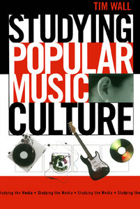 Studying Popular Music Culture (Studying the Media) Music Songbook free download