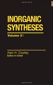Inorganic Syntheses vol. 31 free download