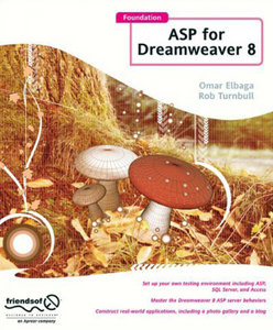 Foundation ASP for Dreamweaver 8 free download