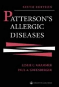 Patterson's Allergic Diseases (Allergic Diseases: Diagnosisamp; Management) free download