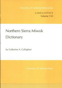 Northern Sierra Miwok Dictionary free download