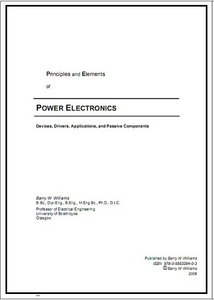 Principles and Elements  of Power Electronics free download