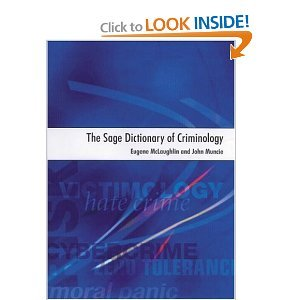 Sage Dictionary of Criminology free download