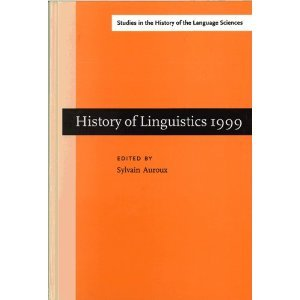 History of Linguistics 1999 free download