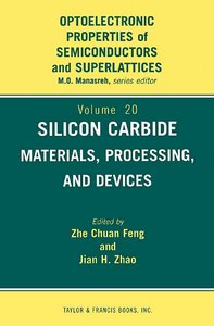 Silicon Carbide: Materials, Processingamp; Devices free download