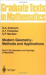 Modern Geometry. Methods and Applications: Part 2: The Geometry and Topology of Manifolds free download
