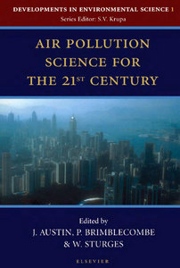 Air Pollution Science for the 21st Century free download