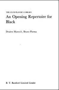 An Opening Repertoire for Black (Batsford Chess Book) free download