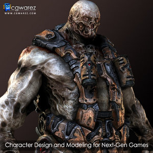 Character Design and Modeling for Next-Gen Games With Vitaly Bulgarov free download
