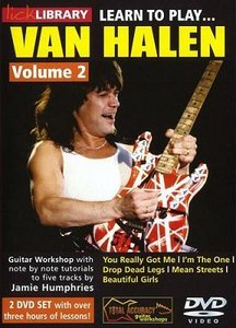 Lick Library - Learn to play Van Halen Volume 2 by Jamie Humphries free download