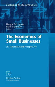 The Economics of Small Businesses: An International Perspective (Contributions to Economics) download dree