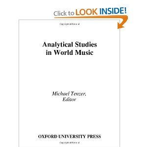 Analytical Studies in World Music free download