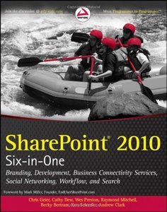 SharePoint 2010 Six-in-One free download