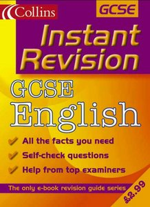 Collins Studyamp; Revision Guides - Instant Revision: GCSE English free download