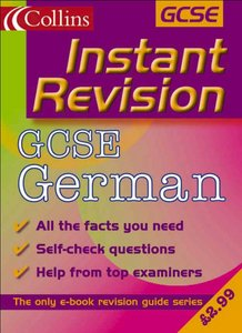 Collins Studyamp; Revision Guides - Instant Revision: GCSE German free download