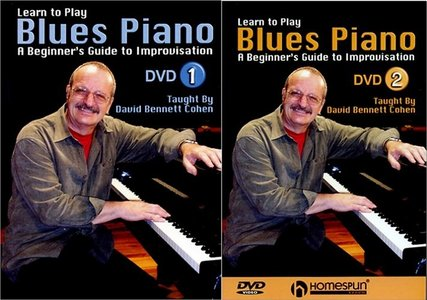 Learn To Play Blues Piano [DVD#1amp; DVD#2] (2004) free download