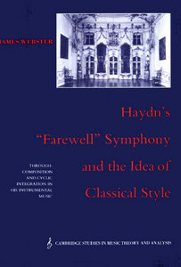 Haydn's 'Farewell' Symphony and the Idea of Classical Style free download
