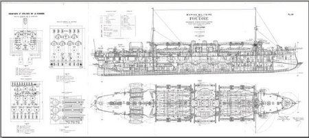 Marine Nationale FOUDRE 1895 free download