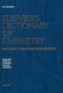 Dictionary of Chemistry: Including Terms from Biochemistry free download