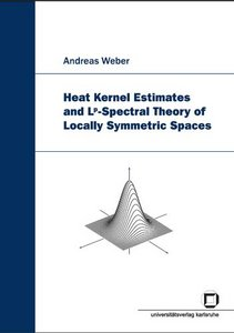 Heat Kernel Estimates and L^p-Spectral Theory of Locally Symmetric Spaces free download