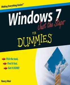 Windows 7 Just the Steps For Dummies free download