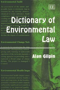 Dictionary of Environmental Law free download