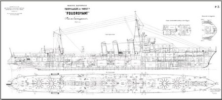 Marine Nationale FOUDROYANT 1929 free download