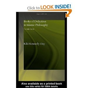 Books of Definition in Islamic Philosophy free download