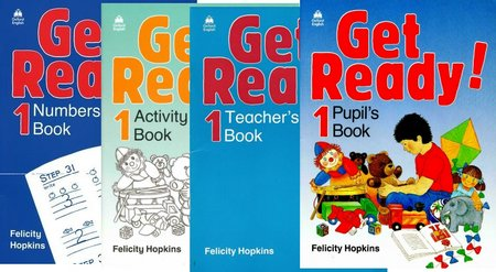 Get Ready!: Pupil's, Activity, Numbersamp; Teacher's Books   Audio Cassette free download
