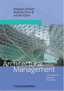 Architectural Management: International Research and Practice free download
