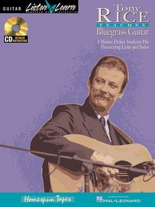 Tony Rice Teaches Bluegrass Guitar free download