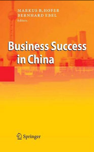 Business Success in China free download