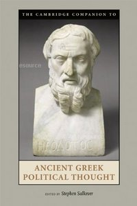 The Cambridge Companion to Ancient Greek Political Thought free download