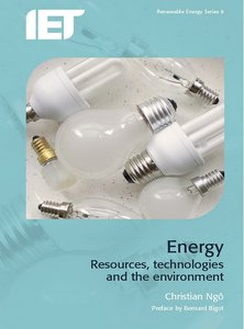 Energy: Resources, Technologiesamp; The Environment free download