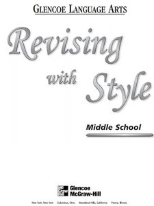 Revising with Style: Middle School free download