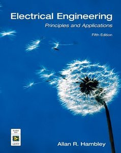 Electrical Engineering: Principles and Applications, 5th Edition free download