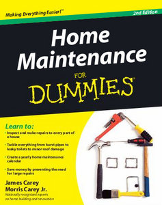 Home Maintenance For Dummies free download