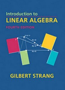 introduction to linear algebra fourth edition free. Black Bedroom Furniture Sets. Home Design Ideas
