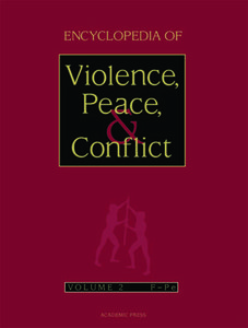 Encyclopedia of Violence, Peace, and Conflict, Volume 2 free download