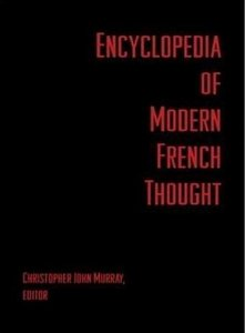 Encyclopedia of Modern French Thought free download