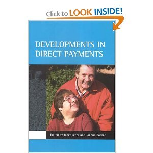 Developments in Direct Payments free download