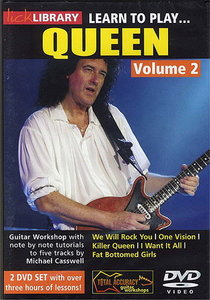 Lick Library - Learn to play Queen Vol. 2 free download
