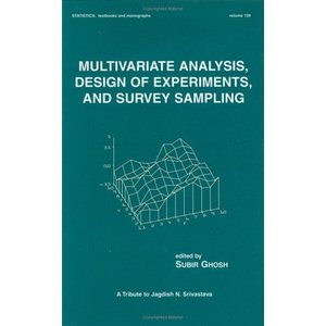 Multivariate Analysis, Design of Experiments, and Survey Sampling free download